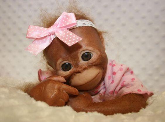 Steiff обезьянки