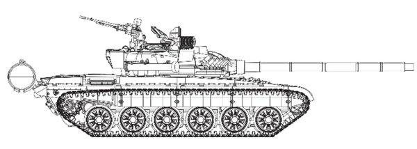 Т-72, радиоуправляемая модель, коллекция от деагостини