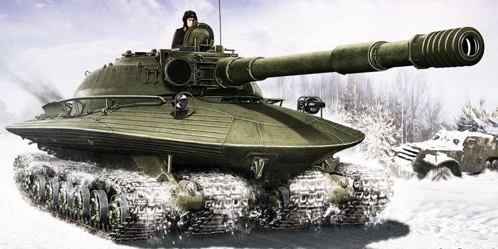 Танки мира №50. объект 279. первый танк для ядерной войны