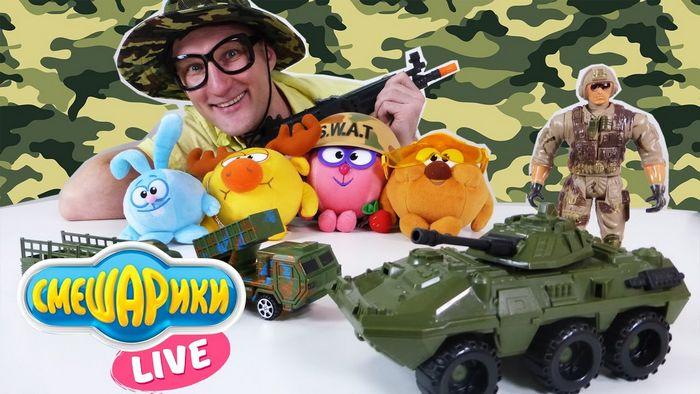 Топ-10 игрушек для сражений. 23 февраля!