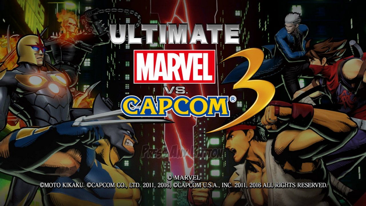 Ultimate marvel vs capcom 3 - версия для playstation 4