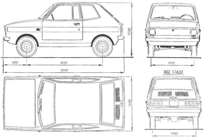 «Валга-комби» — автомобиль из фанеры