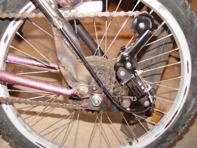 Веломобиль из двух велосипедов
