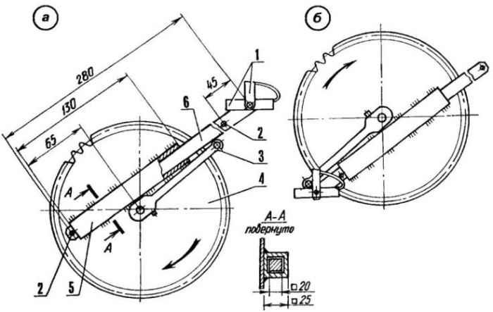 Велосипед меняет форму