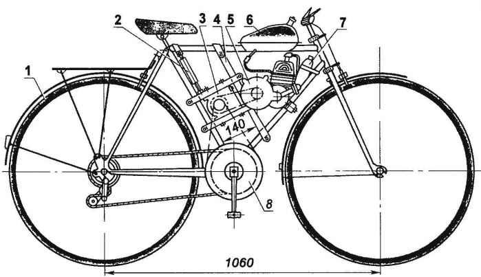 Велосипед тренера