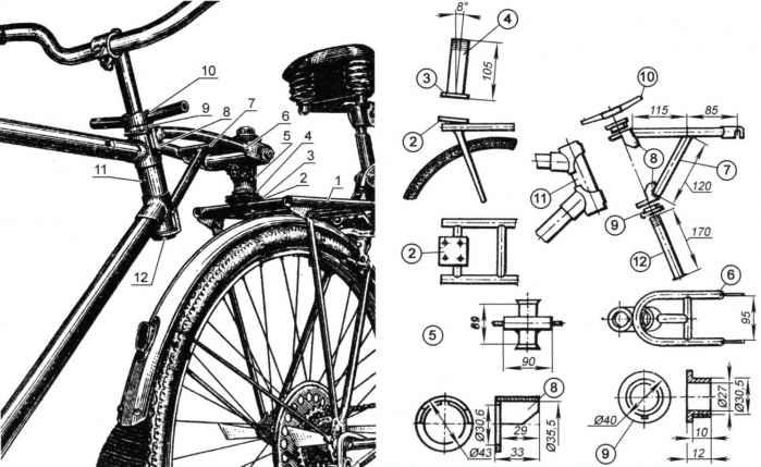 Велотандем - из «дорожников»