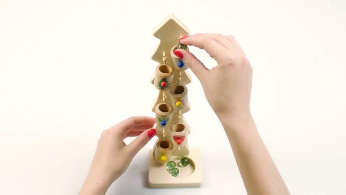 Вёдрышки - деревянная игрушка