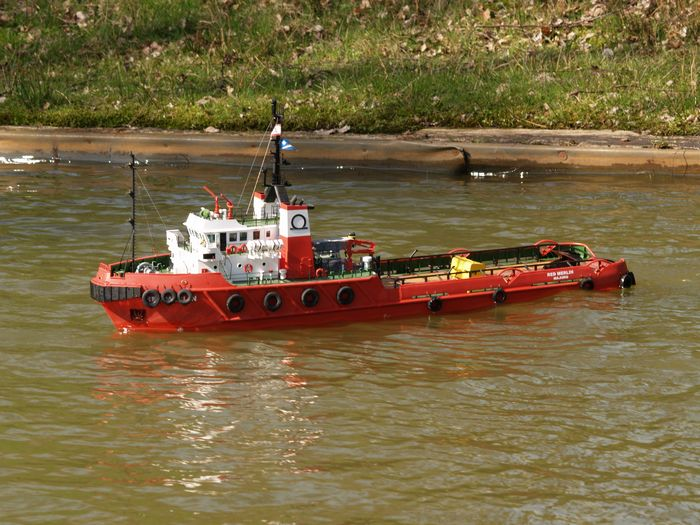 Водный транспорт с радиоуправлением
