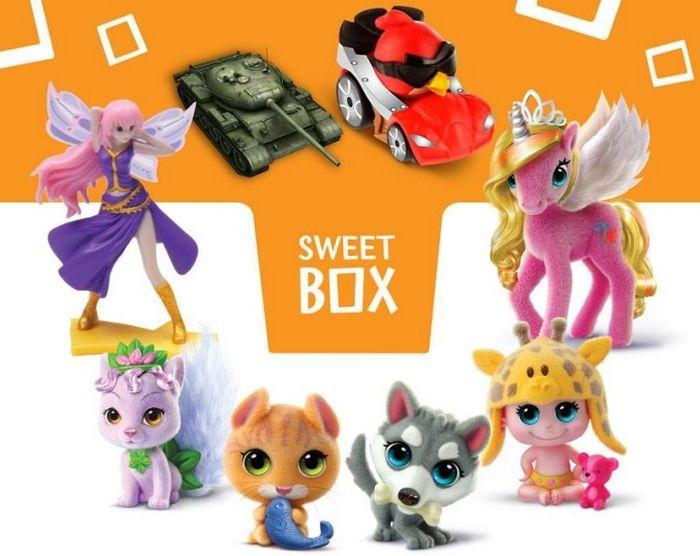 Волшебные феи и другие игрушки в наборах sweet box