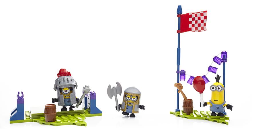 Всеми любимые проказники миньоны в наборах конструкторов mega bloks!