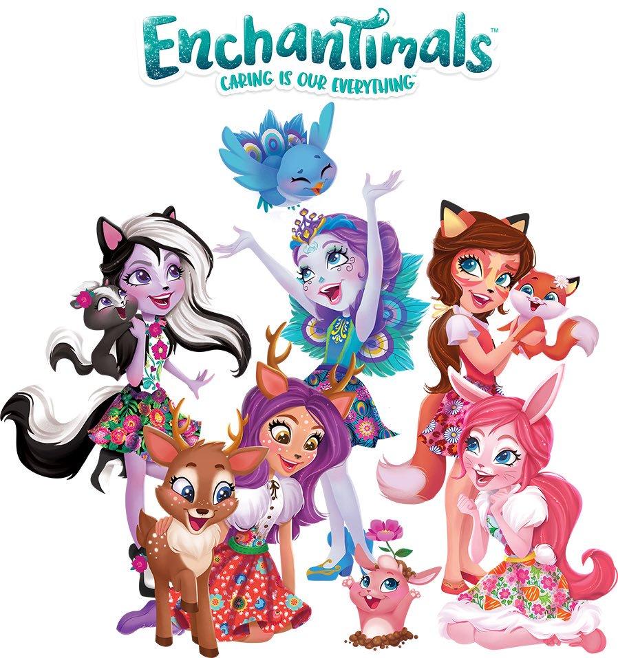 Встречайте самую волшебную новинку 2017 года – enchantimals!