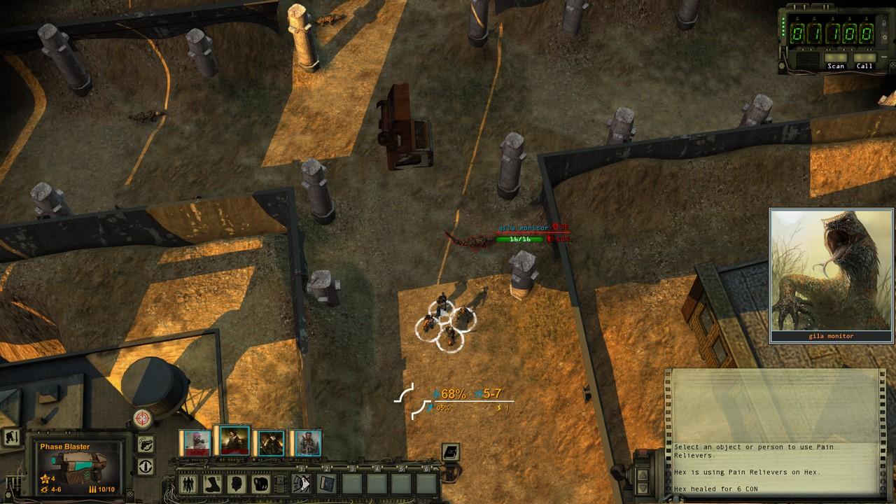 Wasteland 2 - первый взгляд (бета-версия)