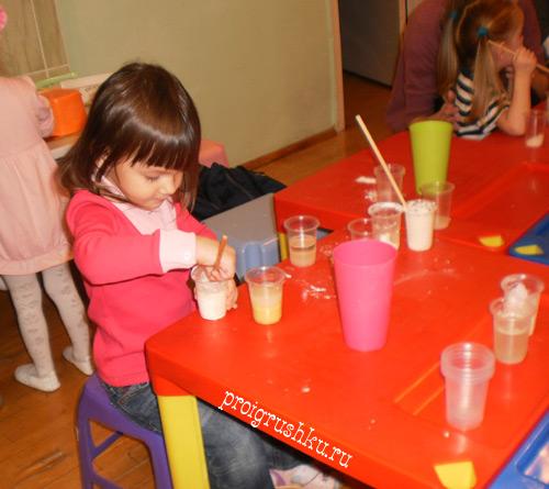 Занимательная химия для детей 2-3 лет