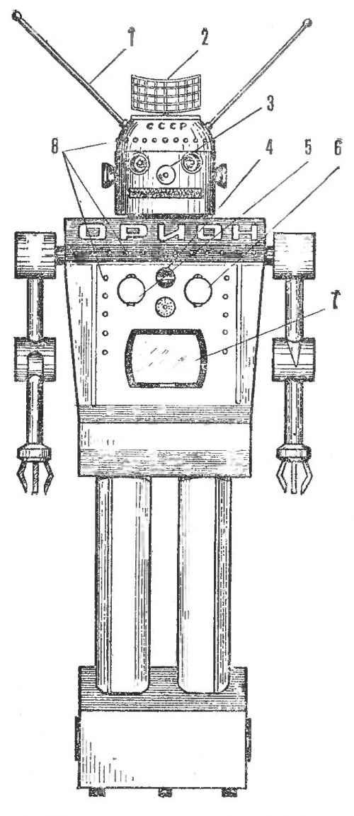 Знакомтесь: я — робот «орион»