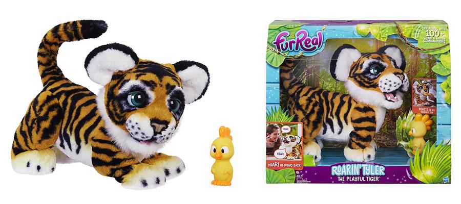 Знакомьтесь - тигренок амурчик, интерактивный питомец от hasbro!